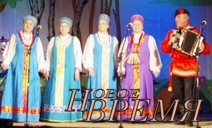 Дипломантом первой степени стал ансамбль «Кондровская частушка».