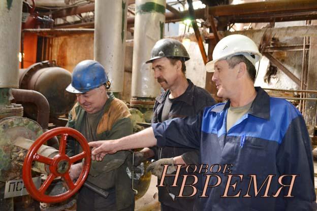 В котлотурбинном цехе ООО «Новокондровская ТЭЦ» идёт ремонт оборудования городской бойлерной установки.